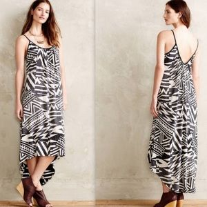 NWT Anthropologie La Vi Cima Printed Maxi Dress